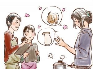優気さん料理教室イメージ